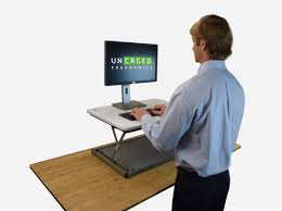 Affordable Sit Stand Desk by Changedesk Mini Standing Desk Conversion Uncaged Ergonomics
