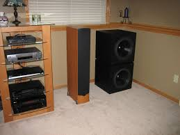 3 subwoofers home theater post a pic of the biggest baddest sub page 4 avs forum home