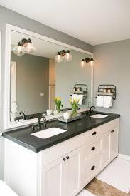 Bathroom Vanity Double by Bathroom Entrancing Unique Round Mirror With Window Near Fancy