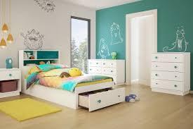 Girls Bedroom Gabriella South Shore Little Monsters Twin Platform Customizable Bedroom Set