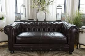Chesterfield Sofa Leather by Darby Home Co Fiske Leather Chesterfield Sofa U0026 Reviews Wayfair