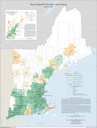 Map Of The New England States by New England City And Town Areas Nectas Maps Geography U S