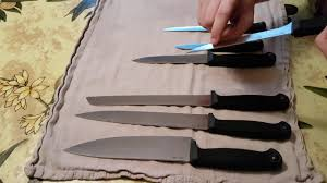 cold steel kitchen knives review youtube