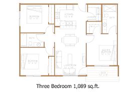 3 Bedroom Apartment Floor Plan Hawley Mn Apartment Floor Plans Great North Properties Llc