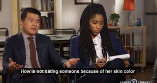 The Daily Show      Unpacks Racism Against Black Women and Asian Men     Essence      The Daily Show      Unpacks Racism Against Black Women and Asian Men on Dating Apps   Essence com