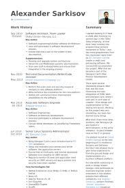Software Architect Resume Samples   VisualCV Resume Samples Database VisualCV Software Architect  Team Leader Resume Samples