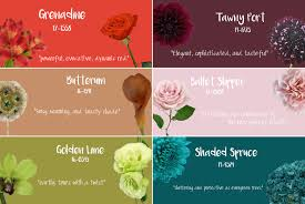 pantone u0027s top colors for fall 2017 fiftyflowers the blog