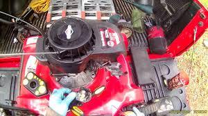briggs u0026 stratton 500 series carburetor cleaning part 1 youtube