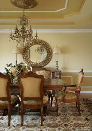 inspiring and simple formal dining room with glass chandelier also