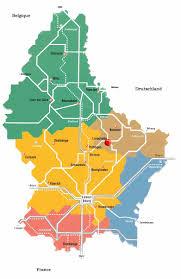 Luxembourg Map Impressum