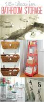 Small Bathroom Storage Ideas Best 25 Clever Bathroom Storage Ideas Only On Pinterest Clever