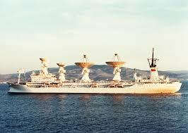 Soviet ship Kosmonavt Yuriy Gagarin