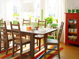 stornäs grey brown extendable table seats 4 6 with kaustby grey