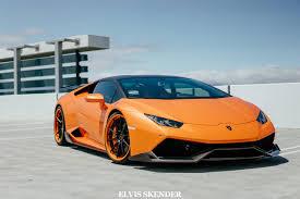 Lamborghini Huracan Colors - stunning orange lamborghini huracan by 1016 industries gtspirit