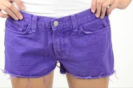 Daisy Duke Shorts Clothing Size 28 J Brand Jeans Cut Off Shorts Bright Purple Daisy Dukes