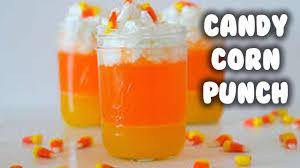 fall drinks candy corn punch u0026 icecream float youtube