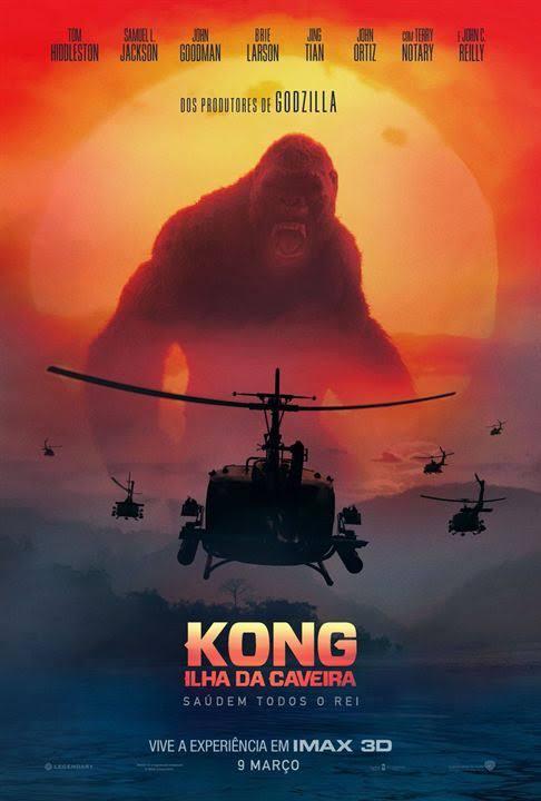 Kong – A Ilha da Caveira (2017) Dublado – Torrent Download