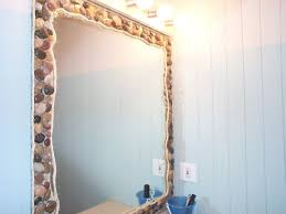 Beach Themed Bathrooms by Painting Beach Themed Bathroom Mirrors Home Designs Ideas