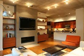 wonderful family room design ideas with tv and fireplace also sofa