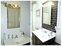 Black And White Small Bathroom Ideas Before After Classic Black White Bathroom Reveal Hometalk