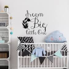 family room wall quotes promotion shop for promotional family room dream big little one quote wall stickers applicable baby kids room modern family home self vinyl adhesive wall decals syy166