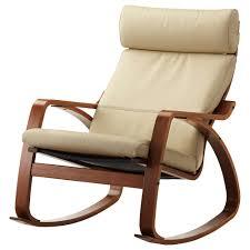 Rocking Chair Recliners Poäng Rocking Chair Glose Dark Brown Ikea