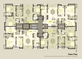 Apartment Plans   Floor Plans Of The Most Famous Tv - Apartment house plans designs