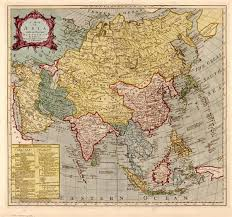 Map Of Asia by Map Of Asia
