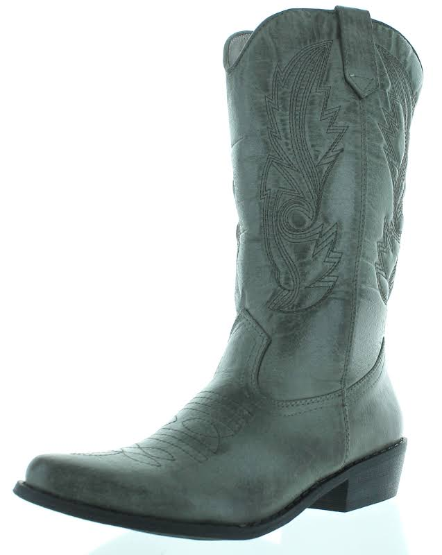 Coconuts By Matisse Gaucho Boot,Grey,7.5