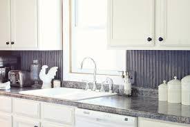 Backsplash For Kitchen Ideas Kitchen U Shape Kitchen Decoration Using Silver Metal Backsplash