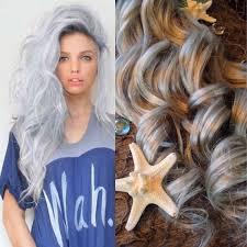 Grey Human Hair Extensions by Hair Extensions Opal Hair Silver Hair Grey Hair Platinum