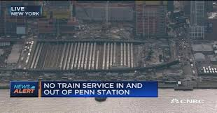 amtrak train derails at penn station