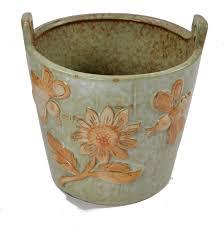 Succulents Pots For Sale by Embossed Painting Ceramic Flower Pot Vintage Mini Pots For