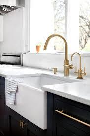 Brass High Arc Kitchen Faucet Design Ideas