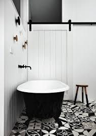 Vintage Black And White Bathroom Ideas Inspired Ideas For Of Black And White Bathroom Tile Home Devotee