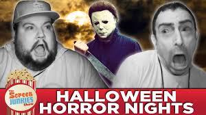 halloween horror nights screen junkies scare youtube