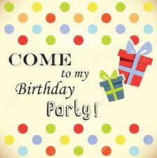 Printable Invitation Card Stock Birthday Party Invitation Card Royalty Free Cliparts Vectors And