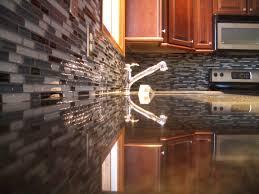 Glass Subway Tile Backsplash Kitchen Interior Amusing Gray Glass Subway Tile Kitchen Backsplash Pics
