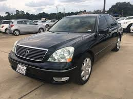lexus ls ground clearance 2001 used lexus ls 430 4dr sedan at car guys serving houston tx