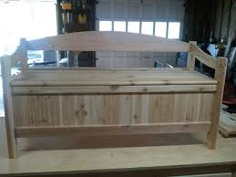 Wood Bench Plans Indoor by Bedroom Excellent 26 Diy Storage Bench Ideas Guide Patterns