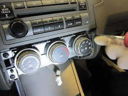 nissan altima not turning on how to 06 nissan altima temp control removal installation