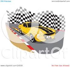 1967 Ford Mustang Black Clipart Illustration Of A Yellow 1967 Ford Mustang Gt500 Muscle