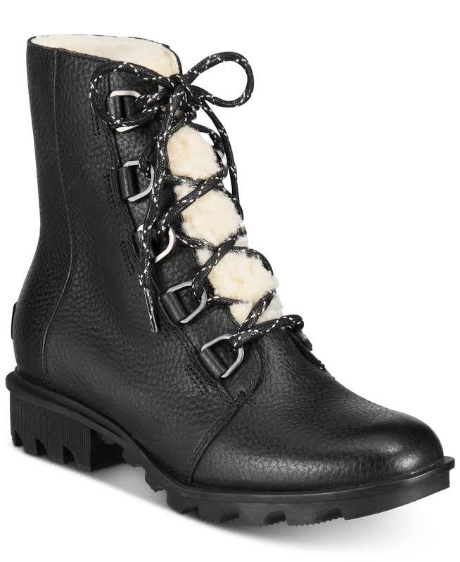 Sorel Phoenix Short Lace Cozy Waterproof Boot, Adult,