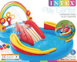 intex rainbow ring play center walmart com