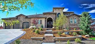 decor tuscan style homes with crumbling stone wall and arched