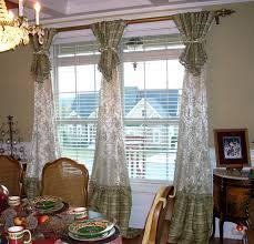 window treatment ideas for living room porcelain holder table lamp