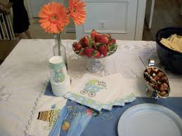 photo baby shower table setting pictures image