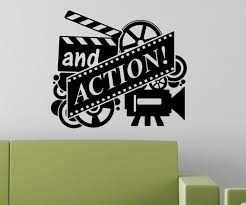 Home Movie Theater Wall Decor Online Get Cheap Film Cinema Movie Aliexpress Com Alibaba Group