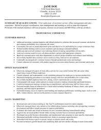 Example Resume  Experienced Resume Templates  experienced resume     customer service representative resume sample