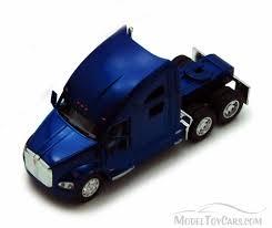 kenworth truck models kenworth t700 tractor blue kinsmart 5357d 1 68 scale diecast